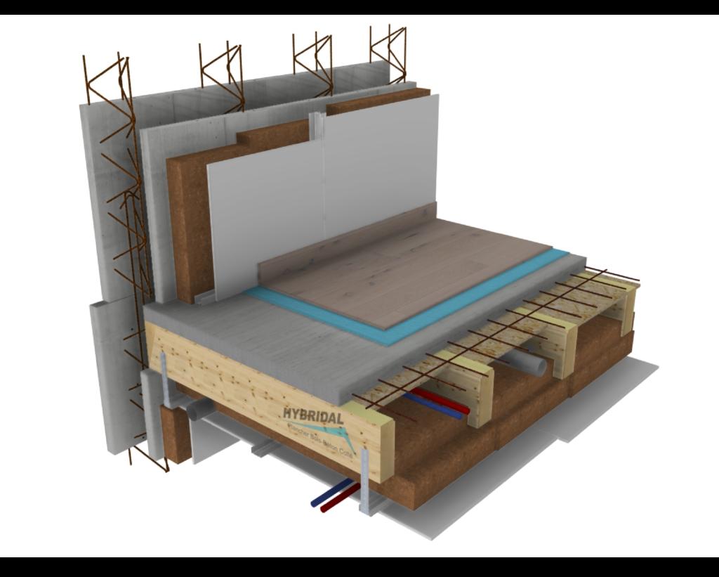 vue 3D plancher